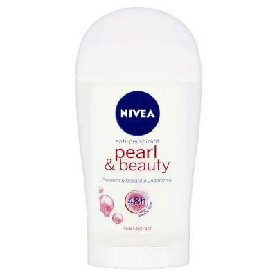 NIVEA Tuhý Antiperspirant Pearl a Beauty 40ml