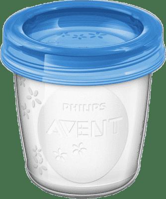 AVENT VIA poháriky s viečkom 180ml - 5ks