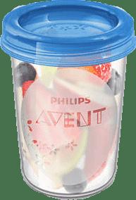 AVENT VIA pohárky s víčkem 240 ml, 5 ks