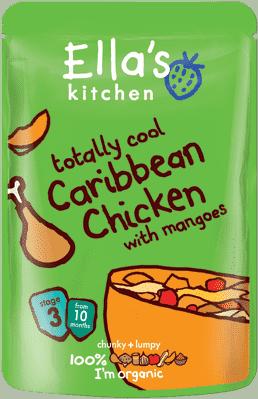ELLA'S Kitchen Karibské kurča smangom 190g