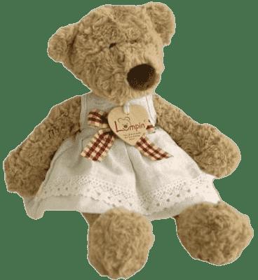 LUMPIN Niedźwiedzica LUMPINka ze wstążką