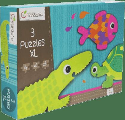 AVENUE MANDARINE Puzzle – Krokodyl i przyjaciele