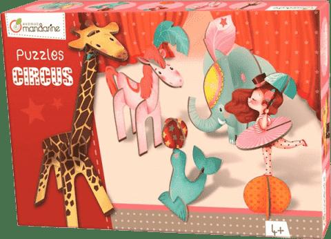 AVENUE MANDARINE 3D puzzle Dievča v cirkuse