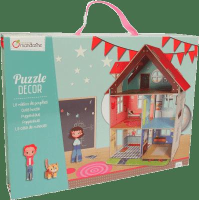 AVENUE MANDARINE Kartónový domček pre bábiky