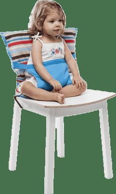 BABYBIRDS Podręczne siedzisko na krzesło - Lines Spirit