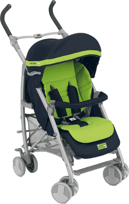 CAM Kočárek MICROAIR – zelený
