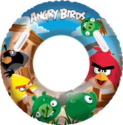 BESTWAY Koło do pływania aqua-speed Angry Birds 91cm