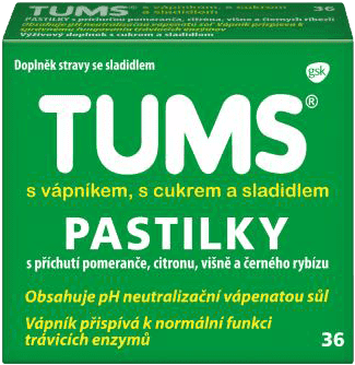 TUMS Dobre trawienie 36 tabletek
