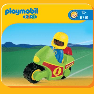 PLAYMOBIL Motocykl wyścigowy