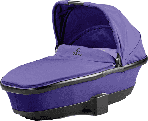 QUINNY Skladacia hlboká vanička – Purple Pace