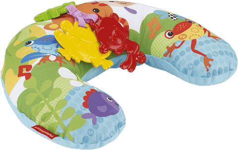 FISHER-PRICE Podporná podložka pod bruško Rainforest