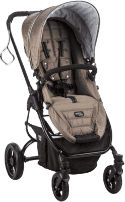 VALCO SNAP Ultra BLACK wózek, brązowy