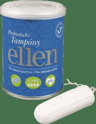 ELLEN Super tampony probiotyczne 8 sztuk