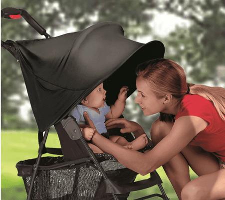SUMMER INFANT Tienidlo na kočík RayShade UVA, UVB 50+ UPF