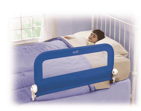 SUMMER INFANT zábrana na posteľ (jednostranná) - modrá