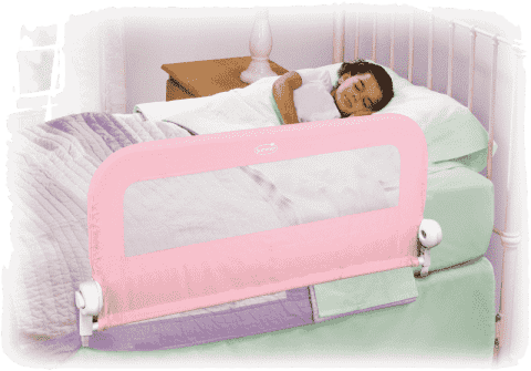 SUMMER INFANT Jednostronna blokada na łóżko różowa
