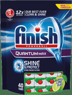 FINISH Tabletki Quantum 40 szt. Apple & Lime