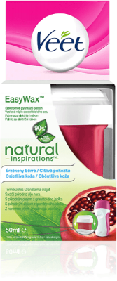 VEET EasyWax Vosk.náplň na nohy do el.setu Natural Inspirations 50ml