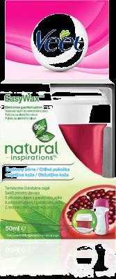 VEET EasyWax wosku do golenia do wrażliwej skóry 50 ml