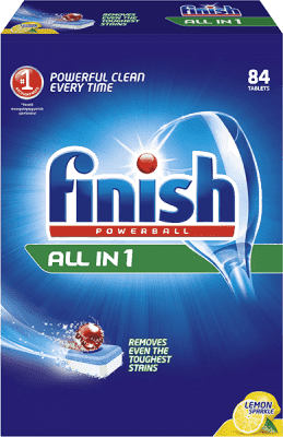 FINISH PB Tabs All-in-1 Citrón 84 ks