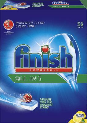 FINISH PB Tabs All-in-1 Citrón 56 ks