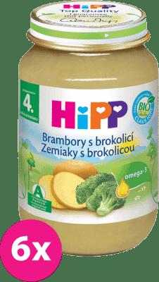 6x HIPP BIO brambory s brokolicí (190 g) - zeleninový příkrm
