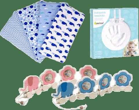 Zestaw na porodówkę dla chłopca – średni
