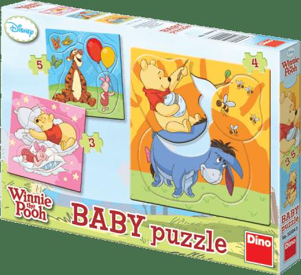 DINO Baby Puzzle Medvídek Pú