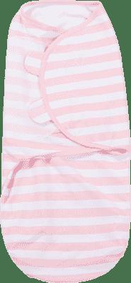 SUMMER INFANT Zavinovačka SwaddleMe L růžový/bílý proužek