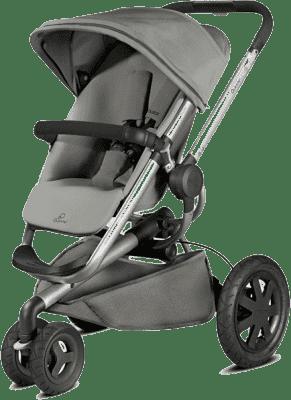 QUINNY Buzz Xtra 3 kolesový kočík – Grey Gravel