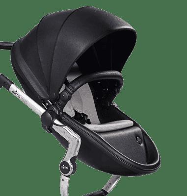 MIMA Xari kočárek 3G - sedák s korbou černý