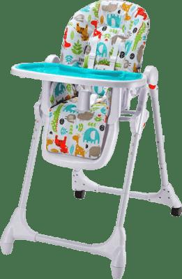 PETITE&MARS Krzesełko do karmienia Zola – niebieskie