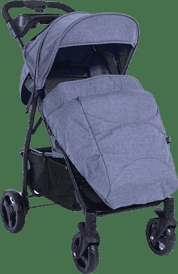 PETITE&MARS Pokrowiec na nóżki do wózka Easy - Blue Melange