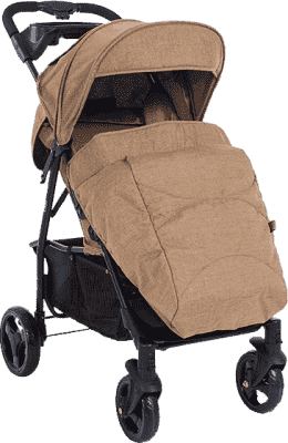 PETITE&MARS Pokrowiec na nóżki do wózka Easy - Sahara Melange