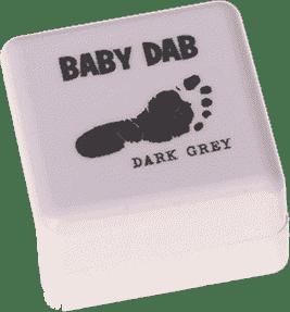 PETITE&MARS Farba na detské odtlačky - šedá