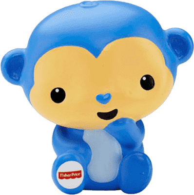 FISHER-PRICE Striekacie opice do vane
