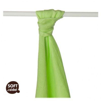 KIKKO Bambusowy ręcznik/pieluszka Colours 90x100 (1 szt.) – lime