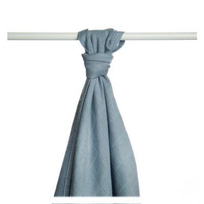 KIKKO Bambusowy ręcznik/pieluszka Colours 90x100 (1 szt.) – silver