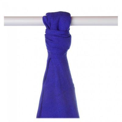 KIKKO Bambusowy ręcznik/pieluszka Colours 90x100 (1 szt.) – ocean blue