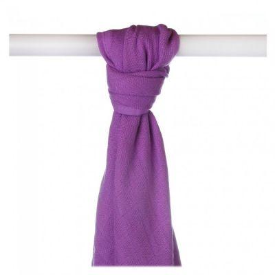 KIKKO Bambusová osuška/plena Colours 90x100 (1 ks) – lilac