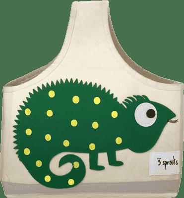 3 SPROUTS Taška na kojenecké potřeby Iguana