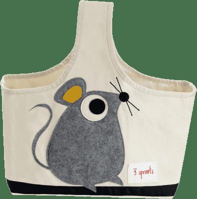 3 SPROUTS Taška na dojčenské potreby Mouse