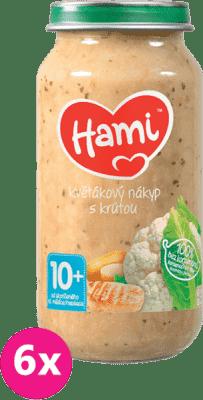 6x HAMI Květákový nákyp s krůtou (250 g) - maso-zeleninový příkrm