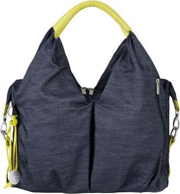 LÄSSIG Přebalovací taška Green Label Neckline Bag - denim blue