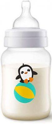 AVENT Dojčenská fľaša Classic+ 260 ml tučniak, 1 ks