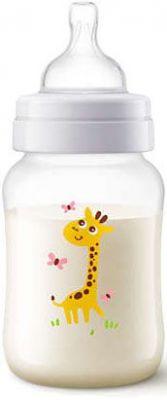 AVENT Dojčenská fľaša Classic+ 260 ml žirafa, 1 ks