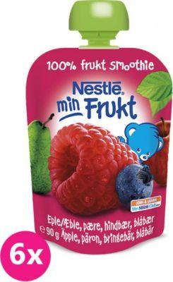 6x NESTLÉ Kapsička Malina-Jablko-Hruška (90 g) – ovocná kapsička