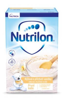 NUTRILON Pronutra® První kaše rýžová s příchutí vanilky 225 g, 4+