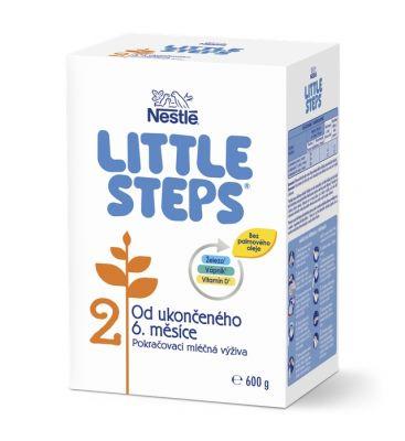 LITTLE STEPS 2 Následná mliečna výživa 600 g