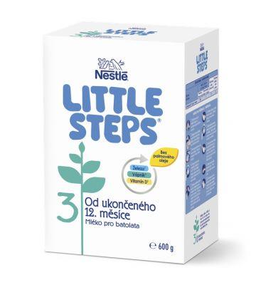 LITTLE STEPS 3 Mliečna výživa pre batoľatá 600 g